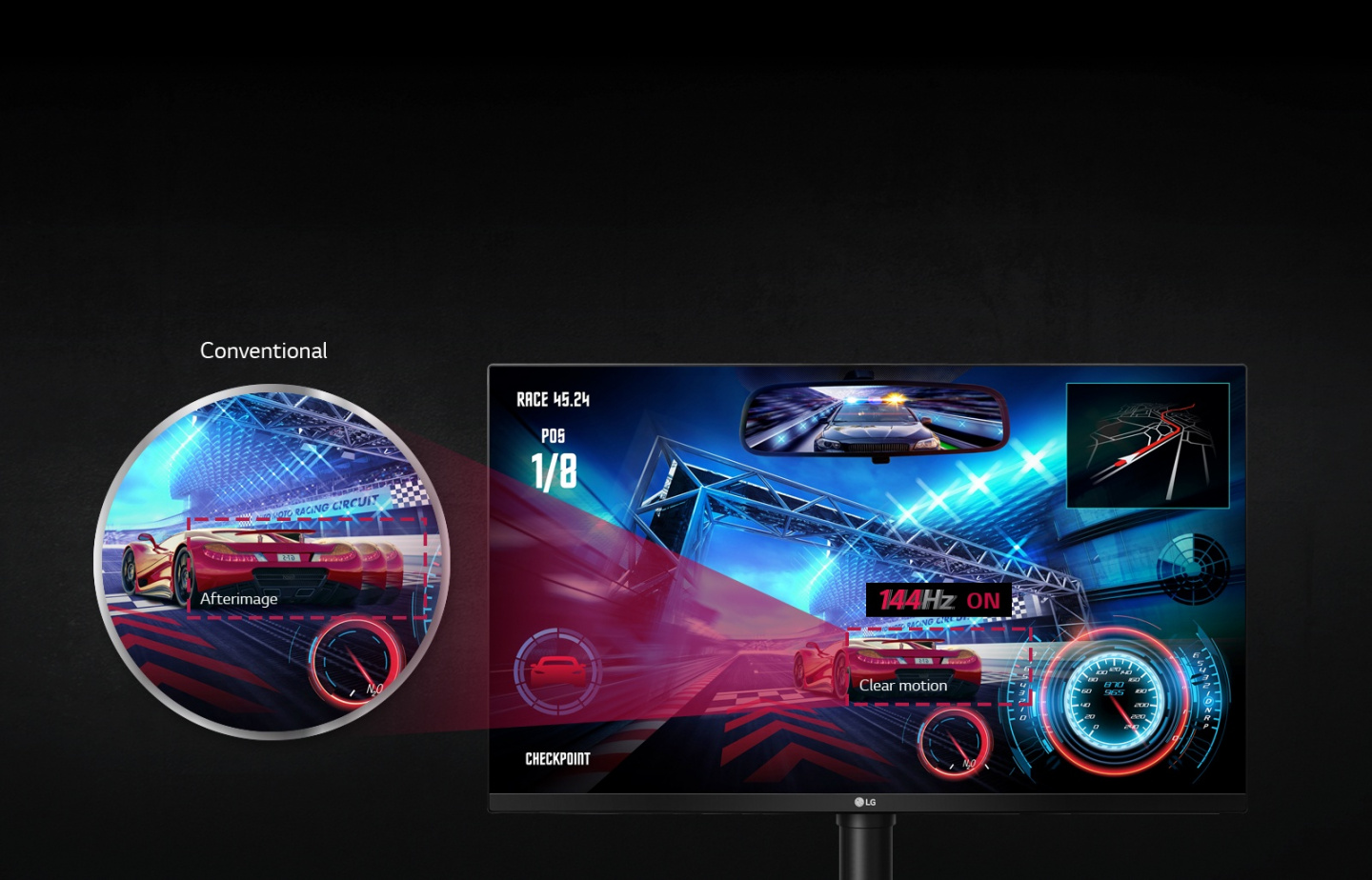 Buy The Lg 32gk850g 32 Nvidia G Sync Gaming Monitor 2560x1440 Dot Matrix Display Circuit Board Rotating Electronic Kit Alex Nld Add New Excitement To Your Space With Striking Led Effects Of Sphere Lighting Gamers Can Customize An Array Different