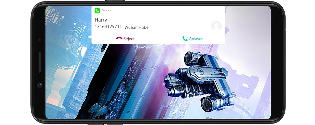 OPPO A73 Dual SIM Smartphone - Black  2 Years Warranty CPH1725 Black