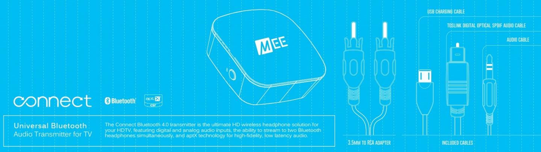 Buy the Mee Audio Connect Universal Dual Headphone Bluetooth