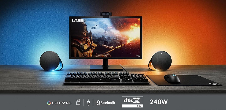 Logitech G560 LIGHTSYNC RGB Gaming Speakers at PB Tech