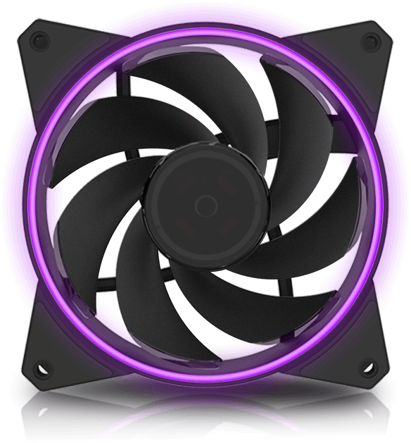 Buy The Cooler Master MasterFan 122 PWM 120mm RGB Cooling
