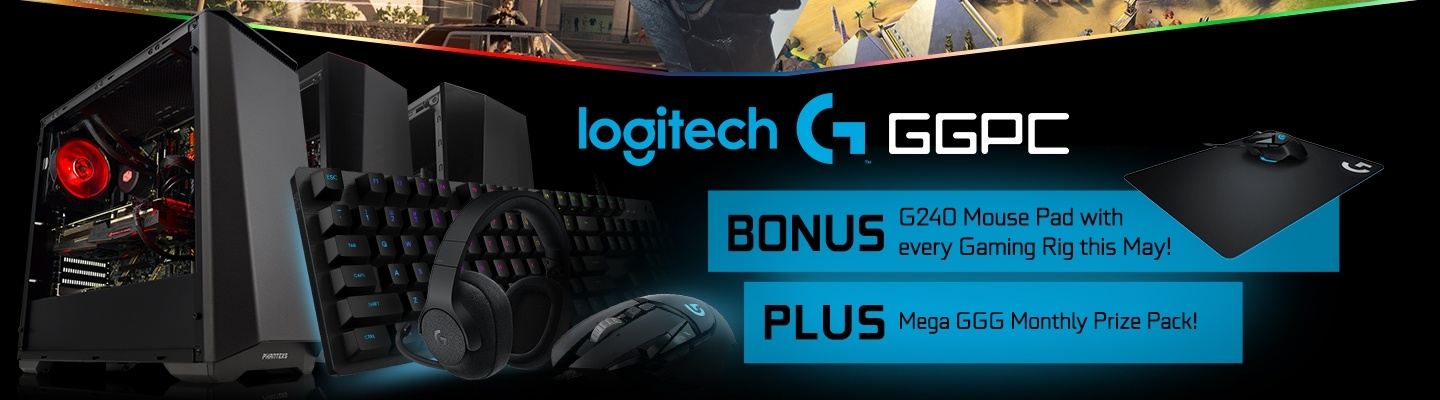 Logitech G GGPC May Gaming PC Bonus