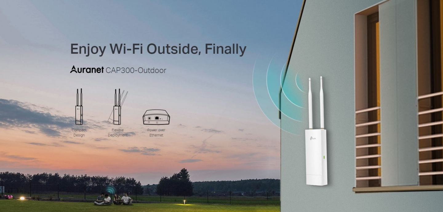 Buy the TP-Link SMB CAP300-Outdoor 300Mbps Wireless N Outdoor Access
