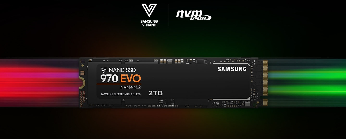 Buy The Samsung 970 Evo 1tb M 2 2280 Nvme Ssd R W Max 3 400mb S