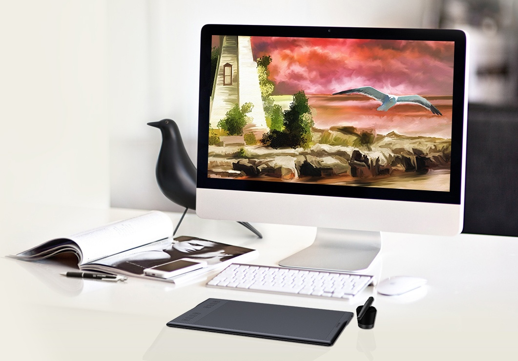 Buy the Huion INSPIROY Q11K v2 Wireless Graphic Tablet touch 8192 levels  of    ( Q11KV2 ) online