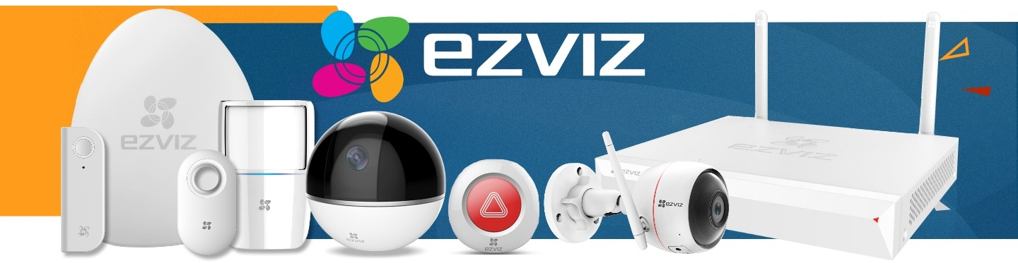 Picture of EZVIZ products at PB Tech