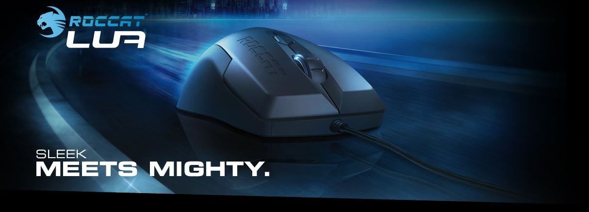 bb06eb06f19 ROCCAT™ Scientists took the beloved three-button mouse model and injected  it with some advanced gaming engineering - and called it the ROCCAT™ Lua.