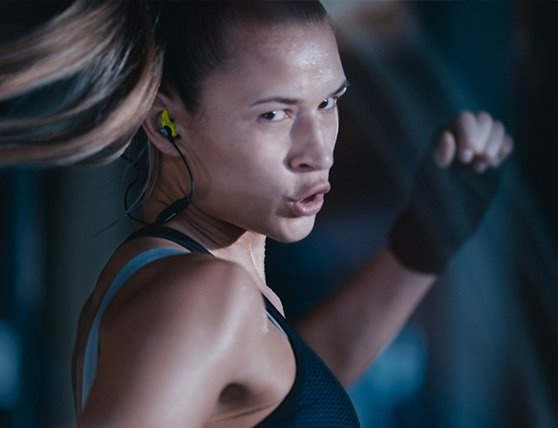 4e7e8f3c281 The new CX SPORT has been created to move as you move, with ergonomic fins  that keep the earbuds comfortably secure. The CX SPORT can either be worn  around ...