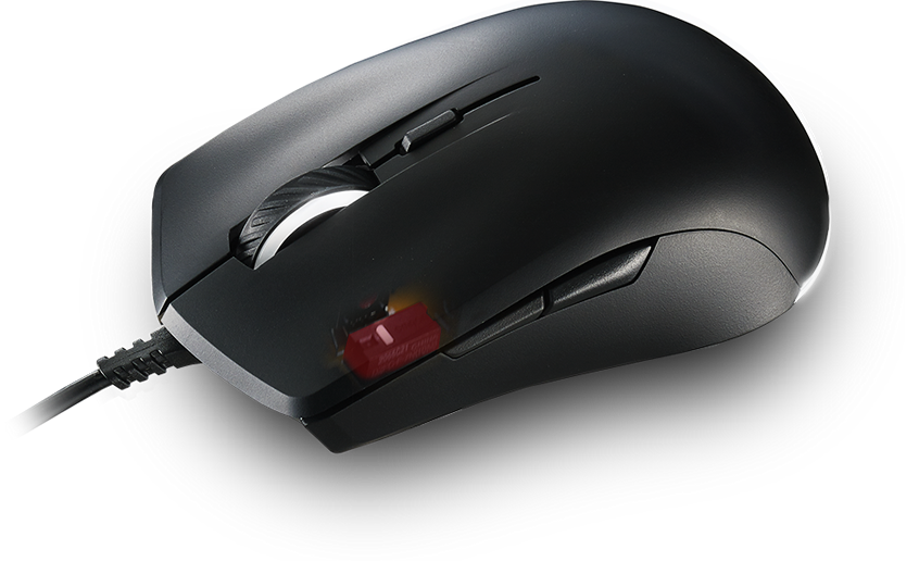 Buy the Cooler Master MasterMouse Lite S Gaming Mouse , PAW3509 Sensor,  On-the    ( SGM-1006-KSOA1 ) online