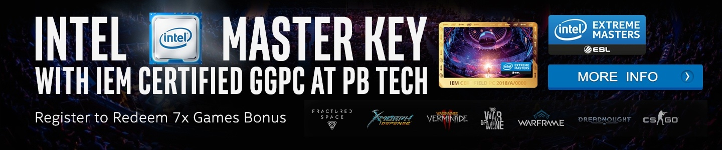 Picture of Intel Master Key BONUS with GGPC