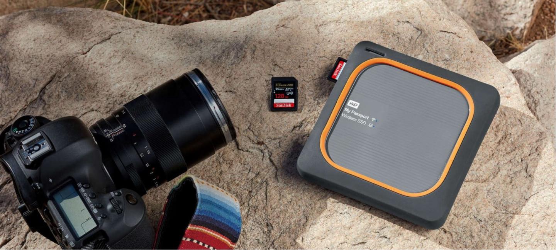 Buy The Wd My Passport 1tb Wireless External Ssd Wdbamj0010bgy Ekternal Harddisk Ultra 3tb Free Powerbank