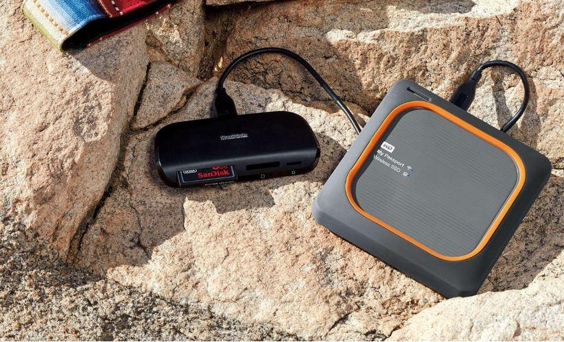 Buy the WD My Passport 1TB Wireless External SSD