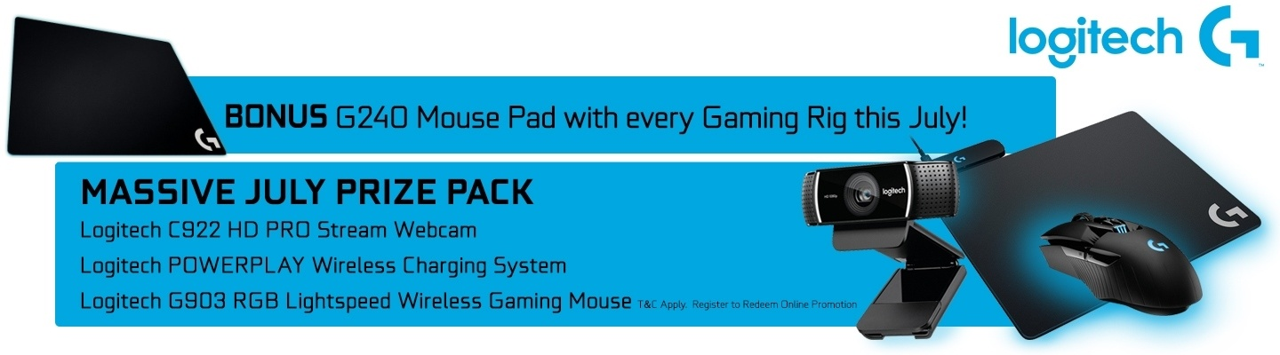 Logitech G Bonus with GGPC this July!