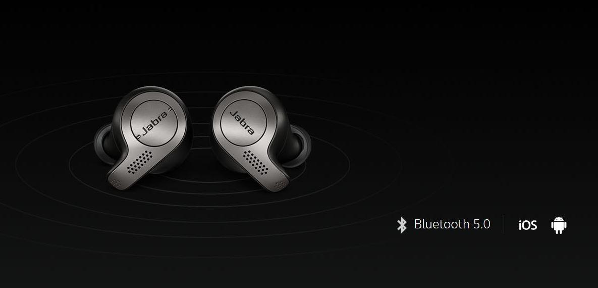 Buy the Jabra Elite 65t Copper Black True wireless earphones