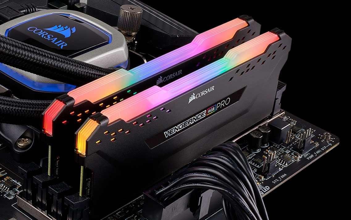 Buy the Corsair Vengeance Pro RGB 16GB RAM 2 X 8GB, DDR4, 3200MHz 16GB 2 x  288    ( CMW16GX4M2C3200C16 ) online