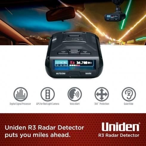 Buy the Uniden R3NZ RADAR DETECTOR, Voice Aler  GPS Built-in with NZ Speed  /    ( R3NZ ) online