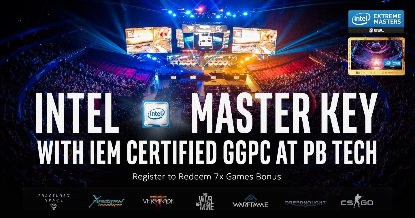IEM Certified Gaming PC 7x Games at PB Tech