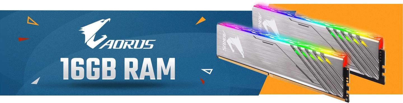 Picture of Gigabyte Aorus RGB Ram kit at PB Tech