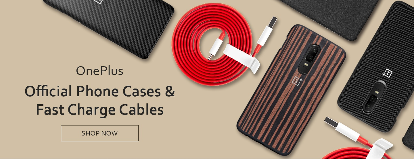 OnePlus Phone Cases & Fast Charge Cables