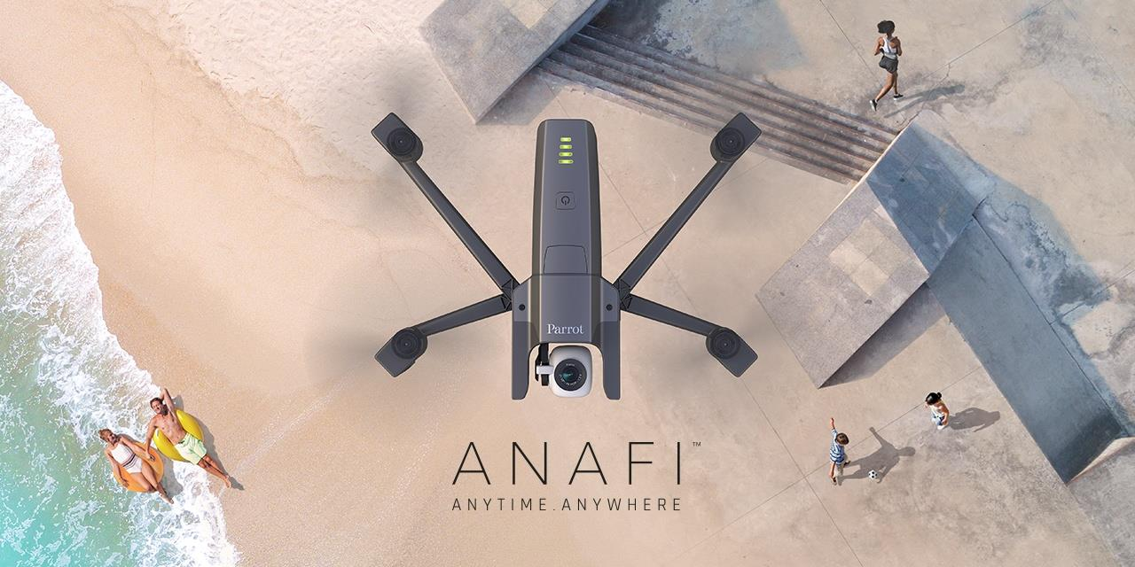 Buy the Parrot Anafi Drone - Ultra Compact Flying 4K HDR Camera,USB