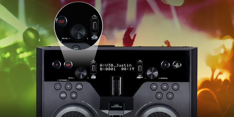 Buy the LG OK55 500W Entertainment System w/ Karaoke & DJ
