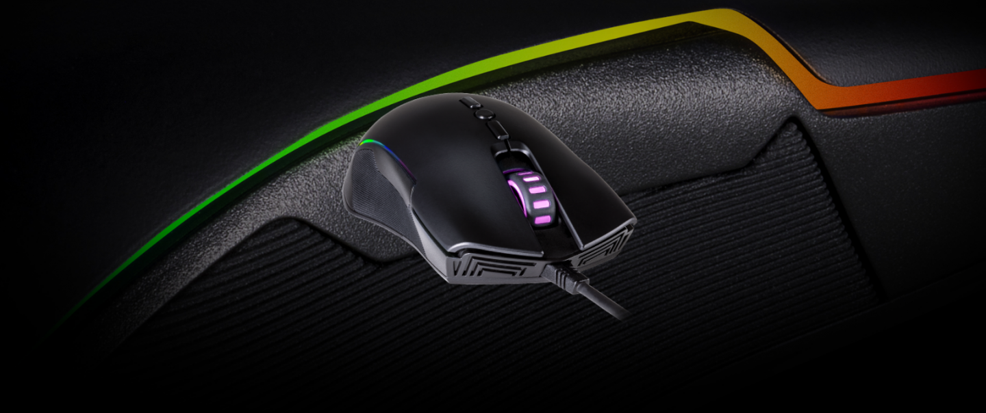 b9a16e55538 Dependable and solid, the CM310 is an impressive mouse that will most  likely never see you as more than just a friend. GAMING GRADE OPTICAL SENSOR