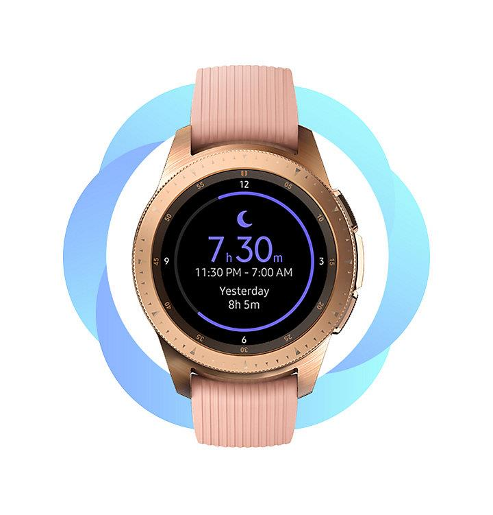 Wake up to what you need to know. Galaxy Watch detects when you wake up df8e2499a75
