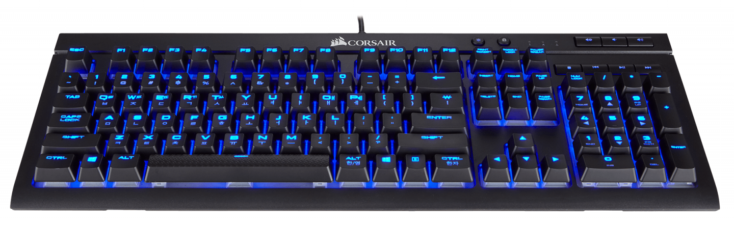 Buy the Corsair K68 Gaming Keyboard - Mechanical Dust & Spill Resistant  -    ( CH-9102021-NA ) online