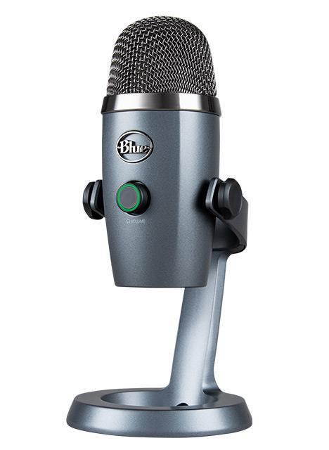 Buy the BLUE Yeti Nano Premium USB Microphone - 2 Blue-proprietary 14mm     ( 90024675 ) online