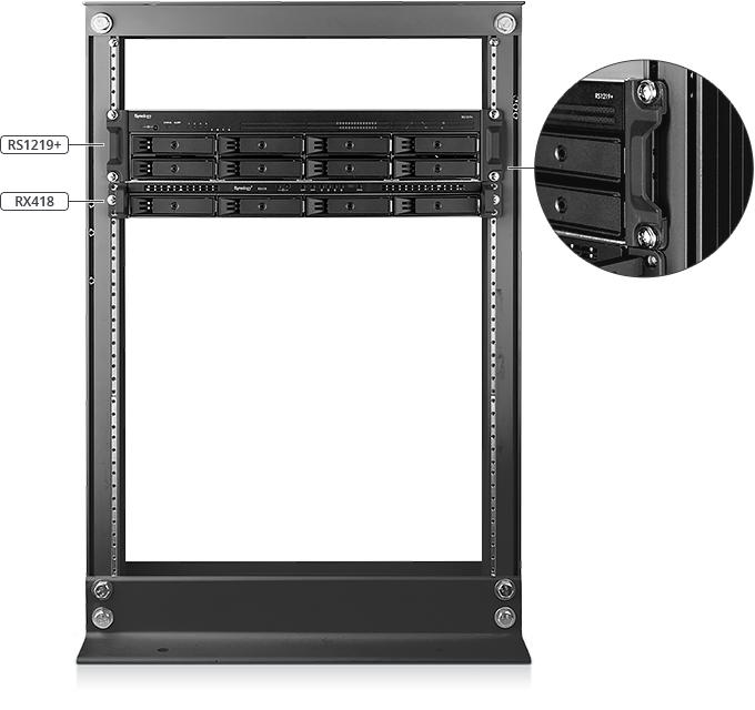 Buy the Synology RackStation RS1219+ 8-Bay 2U Rack NAS Server, Atom C2538  Quad    ( RS1219+ ) online