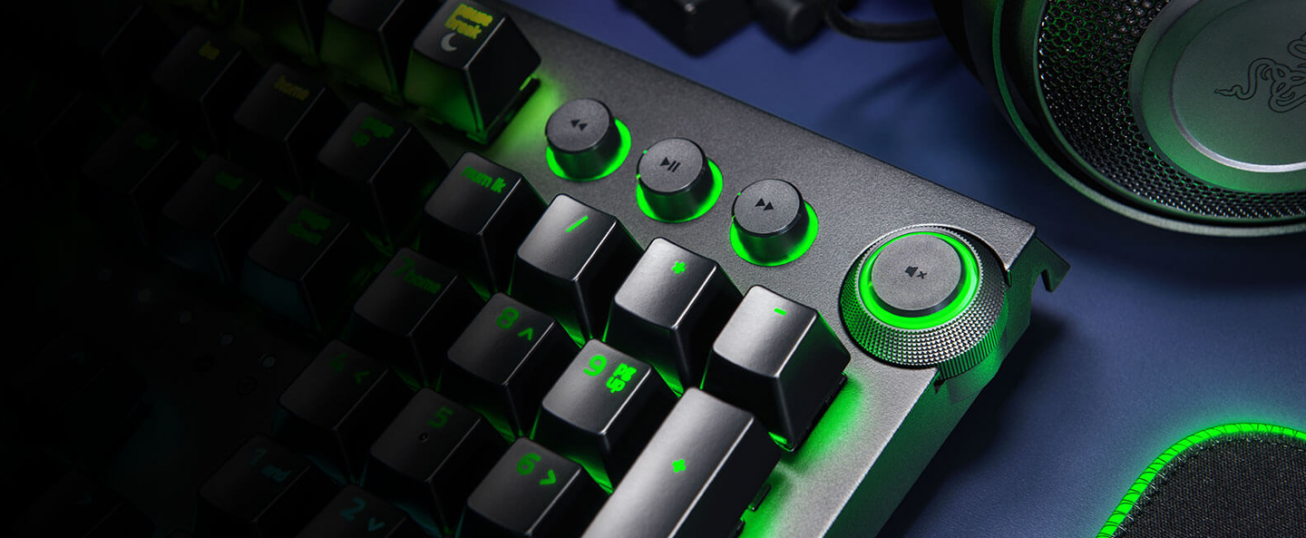 Buy the Razer Blackwidow Elite RGB Mechanical Gaming Keyboard - Green  Switch,    ( RZ03-02620100-R3M1 ) online