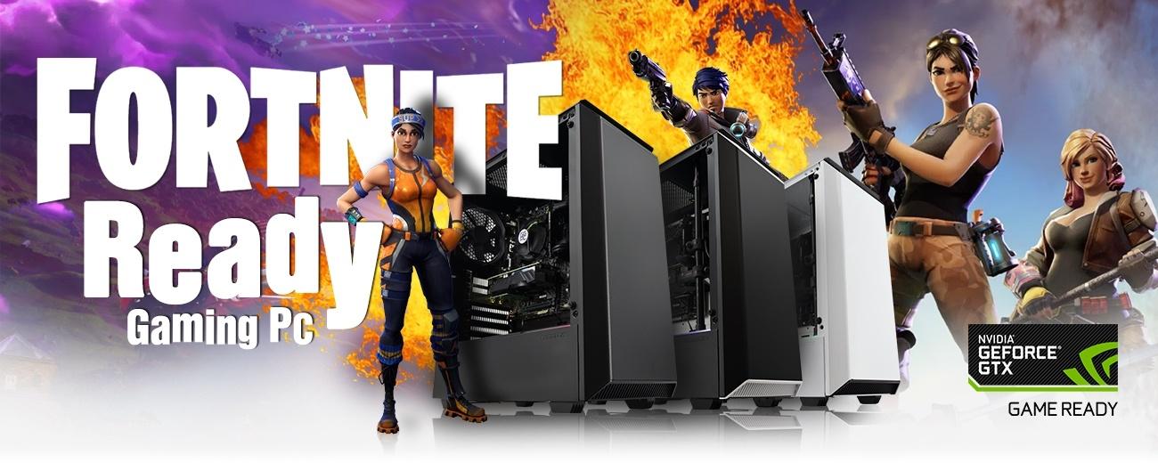 Fortnite Gaming PC & Nvidia Shadowplay Highlights at PB Tech