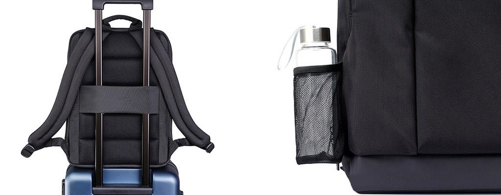 1ded3565e4df Xiaomi Mi Business Black Backpack for 14 - 15.6 Laptop Notebook. Waterproof  ...