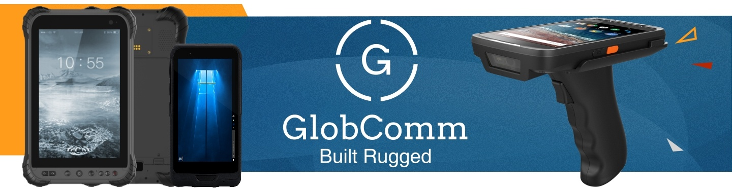 New Globcomm Rugged Tablets at PB Tech