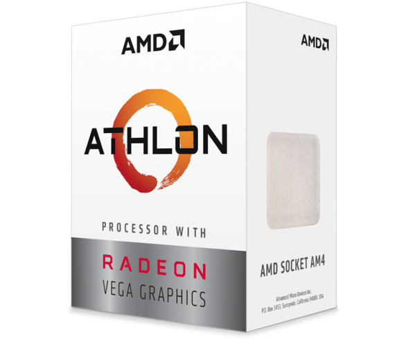 AMD Athlon CPU with Radeon Vega Graphics