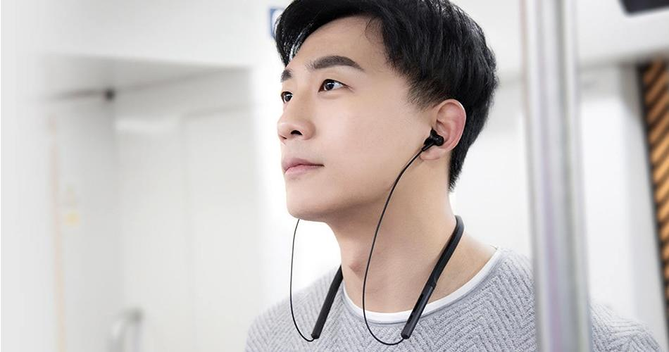 Buy the Xiaomi Mi Bluetooth Neckband Wireless Earphones - Black - AptX +  AAC,    ( ZBW4426GL ) online