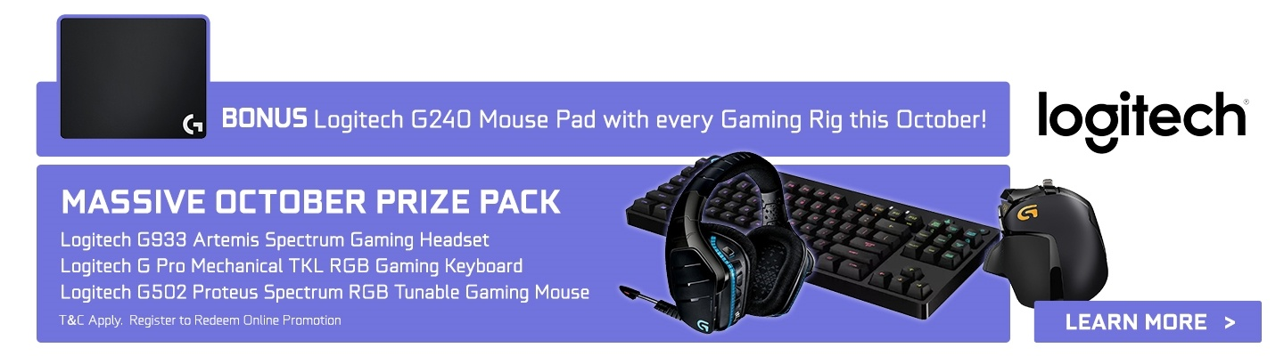 GGPC October Promotions with Logitech G