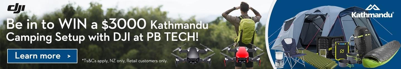 Picture of DJI and Kathmandu at PB Tech