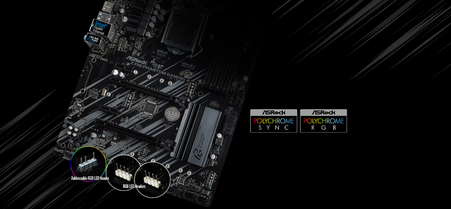 Buy the ASRock Z390 Phantom Gaming 4 ATX Motherboard, For Intel 8th/9th  Gen    ( Z390 Phantom Gaming 4 ) online