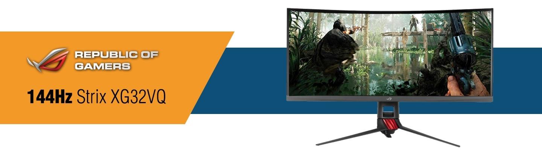 Asus RGB 144Hz Gaming Monitor at PB Tech