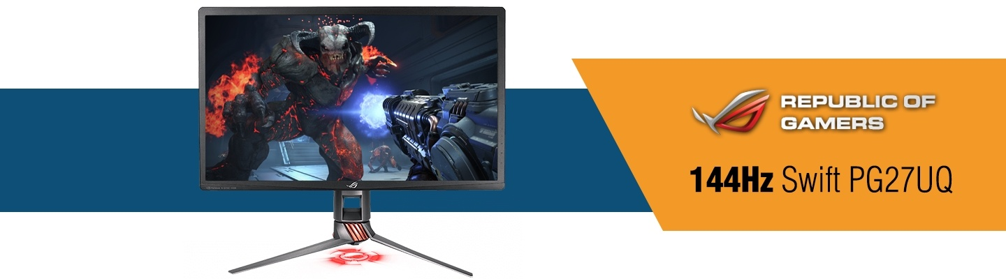 Picture of Asus Rog Swift PG27UQ Gaming Monitor at PB Tech