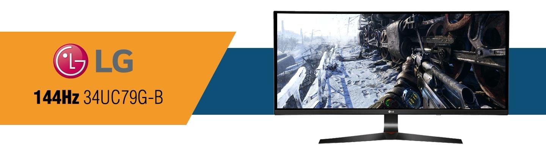 LG 144Hz 34UC79G-B Gaming Monitor at PB Tech