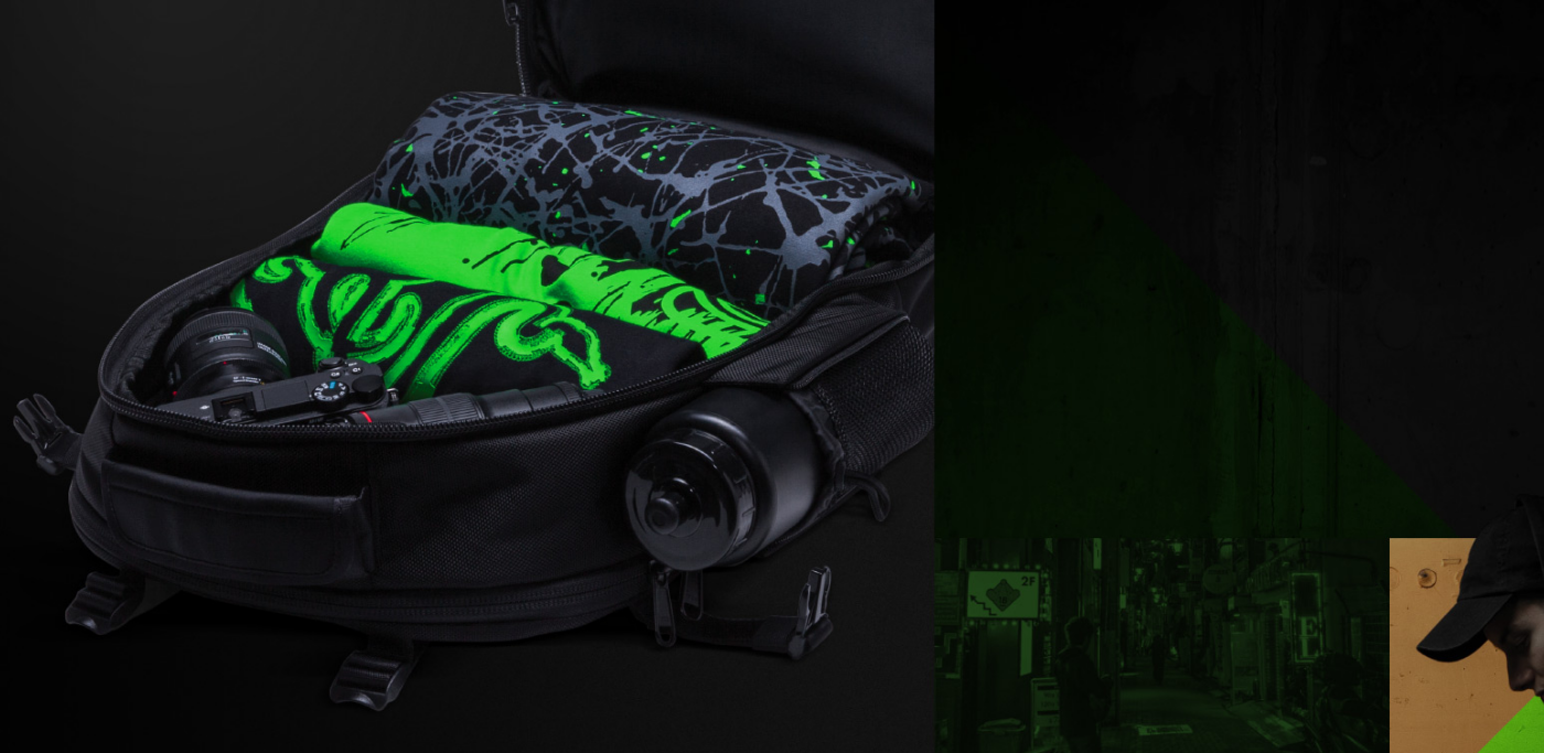 Buy The Razer Rogue 173 Backpack Rc81 02630101 Online Pbtech Utility Black Fits Blade Pro And Most Laptops