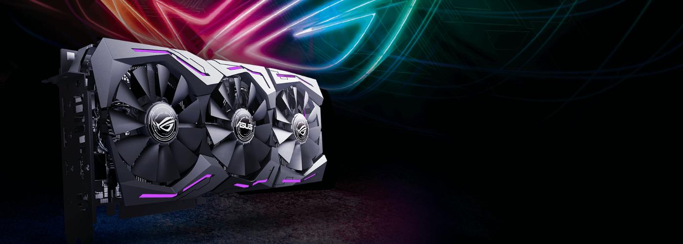 Buy the ASUS ROG Strix GeForce RTX 2070 OC RGB Graphics Card 8GB GDDR6,  GPU    ( ) online