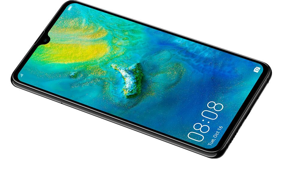 Buy the Huawei Mate 20 Dual SIM Smartphone - Black 6+128GB - Massive  screen,    ( HMA-L29 Black ) online
