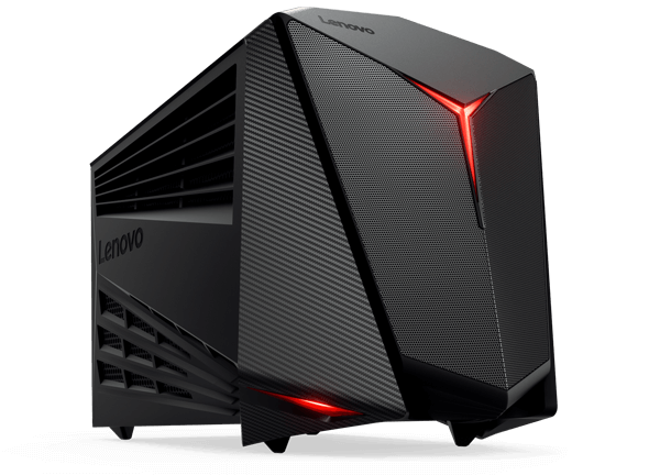 Lenovo Ideacentre Y720 Cube, front left side view