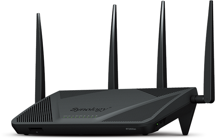 Buy the Synology Router RT2600ac 4x4 MIMO, Dual core 1 7GHz CPU, 4x GbE  LAN,    ( RT2600ac ) online