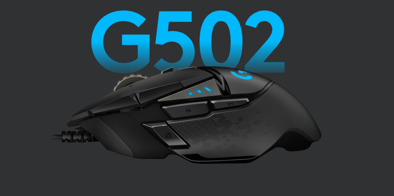 591ecea8443 G502 HERO features an advanced optical sensor for maximum tracking  accuracy, customizable RGB lighting, custom game profiles, from 200 up to  16,000 DPI, ...