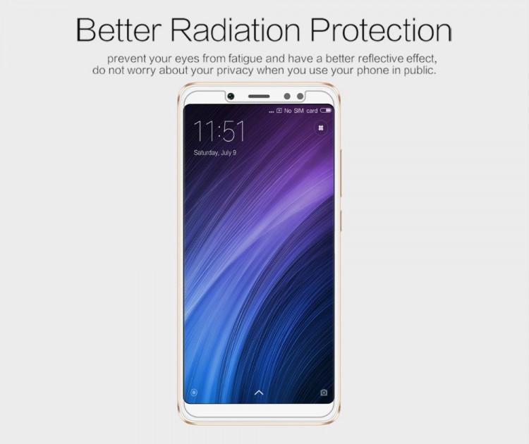 2 pcs x Nillkin screen protector film for Xiaomi Redmi Note 5 (5.99)