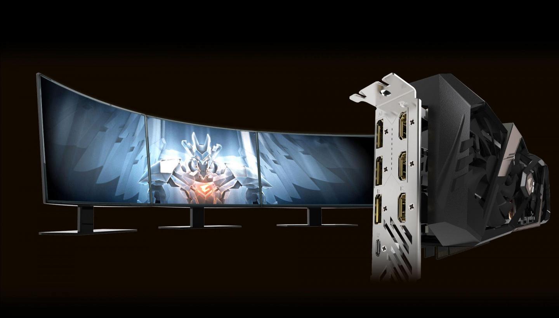 Buy the Gigabyte Geforce RTX 2080 Aorus X RGB Fusion 8G DDR6, GPU Upto1890  MHz    ( GV-N2080AORUS X-8GC ) online